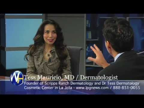 America's Favorite Dermatologist, Tess Mauricio, M.D. Jolla Cosmetic Dermatology  with Randy alvarez