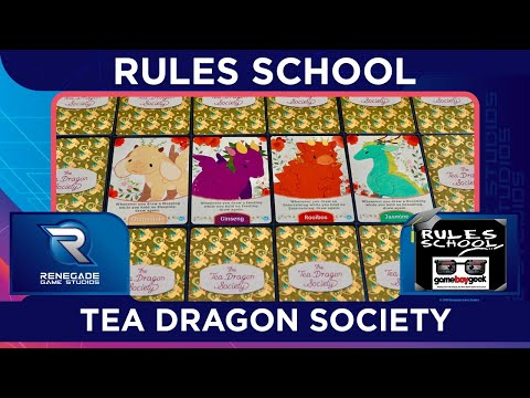 How to Play The Tea Dragon Society (Rules School) with the Game Boy Geek