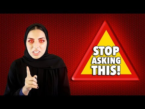 #QTip: Folks, STOP asking Qatari women this question!!
