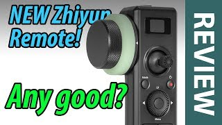 Review of Zhiyun Motion Sensor Remote Control with Follow Focus - ZW-B03