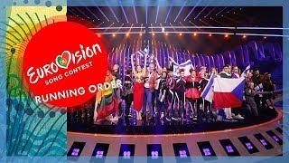 Eurovision 2018 - Grand-Final - Running Order