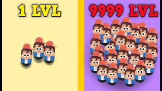POPULAR WARS WORLD RECORD - 999 PEOPLE TIPS TRICKS & STRATEGY! NEW IO GAME!