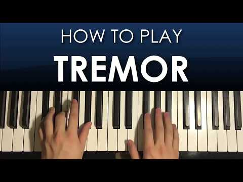 HOW TO PLAY - 'Tremor' - Martin Garrix (Piano Tutorial Lesson)
