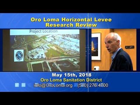 VIDEO Dr David Sedlak   UC Berkeley   Horizontal Levee Research Findings to Date   May 2018