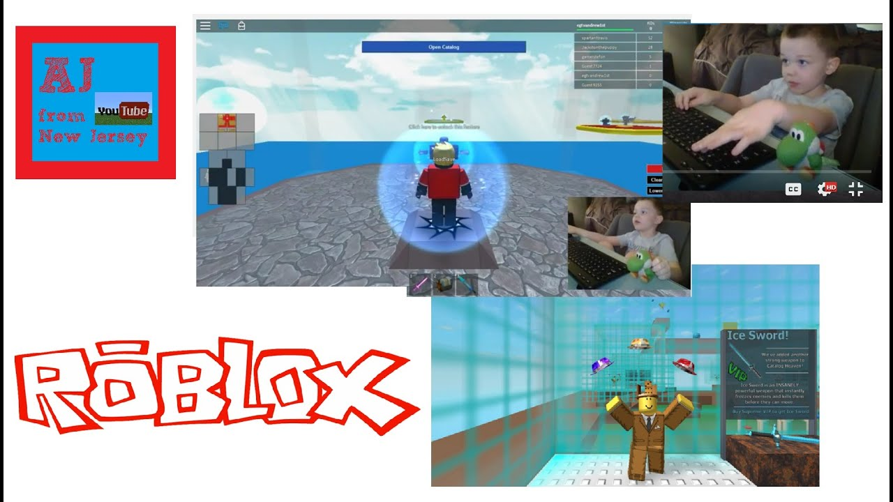 New Jersey Roblox Roblox Catalog Heaven Aj From New Jersey Youtube