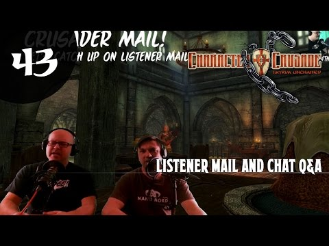 CC43: Questions from the Crusader Mailbag