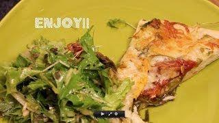 Makin' Beets! Heirloom Tomato Pizza Rustica