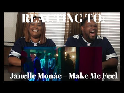 Janelle Monáe – Make Me Feel [Official Music Video] REACTION