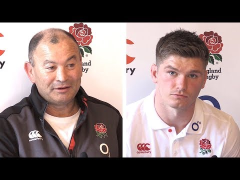 Eddie Jones & Owen Farrell Pre-Match Press Conference - France v England - Six Nations