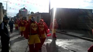 Carnaval Tenancingo Tlaxcala 2016 Tatas vs super abajeños