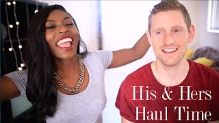HUGE HIS AND HERS HAUL| TOPSHOP, ZARA, ASOS, MONKI, MENSWEAR & MORE Thumbnail
