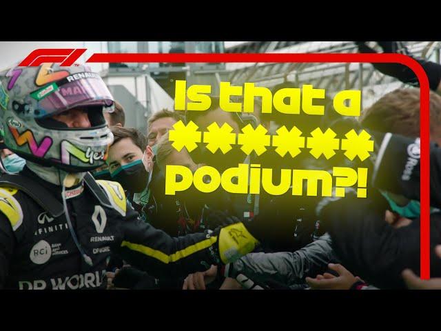 Daniel Ricciardo Grabs His First Renault Podium | 2020 Eifel Grand Prix