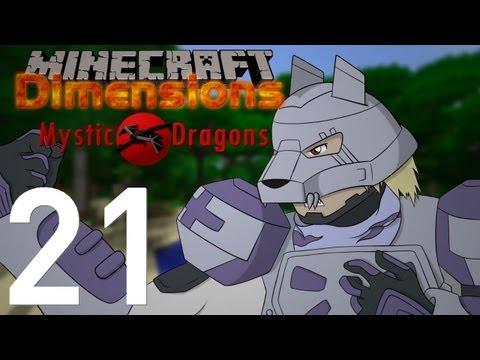 Minecraft Dimensions [S2-21] - Mystic Dragons : Une santé de fer !