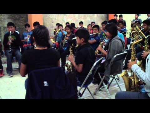 Sones y Jarabes. Banda del CIS No. 8, Zoogocho.