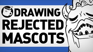 Drawing Rejected Sports Mascots