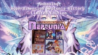 Unboxing-Hyperdimension Neptunia Victory Limited Edition
