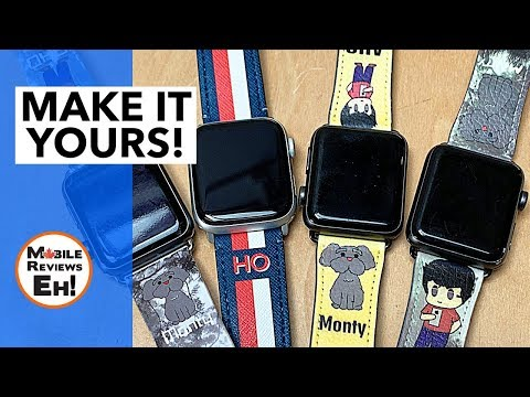 The BEST CUSTOM Printed Apple Watch Straps (Series 1-4)