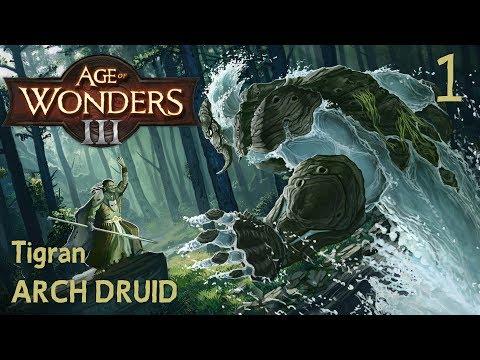Age of Wonders 3 | Tigran Arch Druid 1