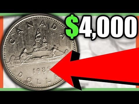 7 EXTREMELY RARE AND VALUABLE CANADIAN COINS WORTH MONEY - COINS TO LOOK FOR!