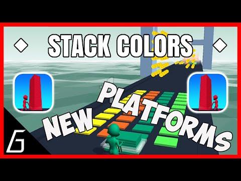 Stack Colors Gameplay | Part 34 All Level (271 - 275) + Bonus
