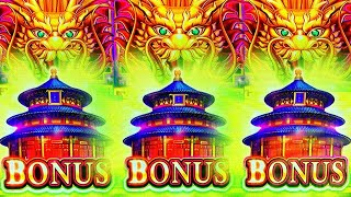 LOCK 'EM UP!! 🐲 SUPERLOCK FLOWER FORTUNE, HUFF N'PUFF & SHI SHI SHUN Slot Machine Bonus (SG)