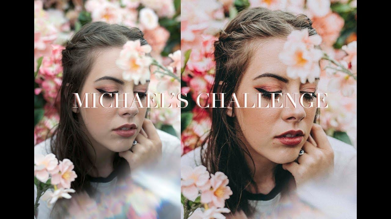 Michaels Craft Store Photoshoot Challenge Youtube
