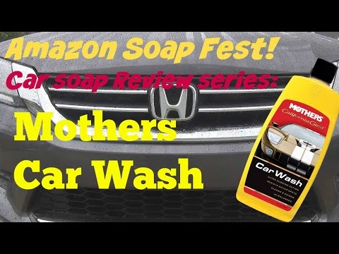 Amazon Soap Fest Review of Mothers Car Wash