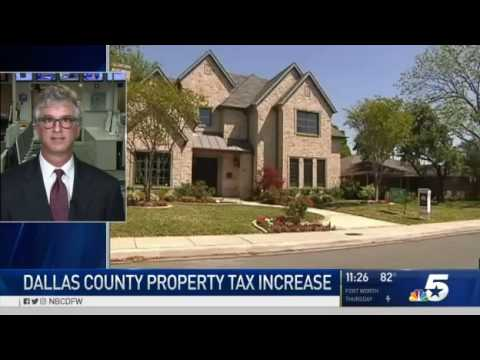 DallasNews Watchdog Dave Lieber talks rising property taxes with NBC5