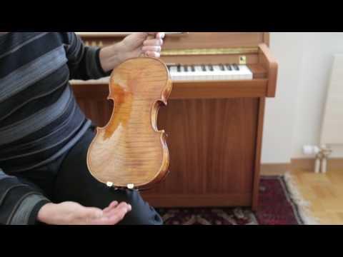 Pierre Amoyal joue «L'Hiver» des Quatre saisons et évoque son Stradivarius Kochanski de 1717