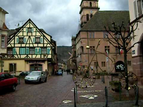 Kaysersberg, Alsace (France) -- Sunday Morning, March 21, 2010 Cool Bike Parking Area!