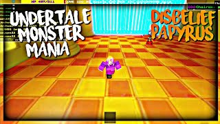 Roblox Undertale Monster Mania: Disbelief Papyrus