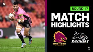 Broncos v Panther | Round 17 2020 | Telstra Premiership | NRL