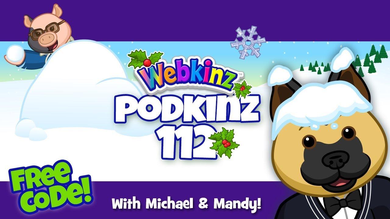 Webkinz Podkinz 112: Winterfest Sneak Peek and a FREE Code!