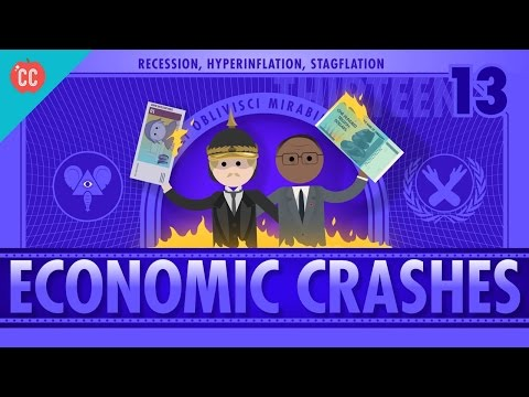 Recession, Hyperinflation, and Stagflation: Crash Course Econ #13