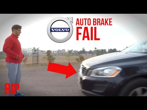 Volvo Auto Braking Test | Gone Wrong | XC60