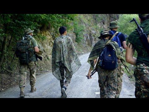 Военная подготовка и Пещеры Нагорного Карабаха. Арцах - Армения