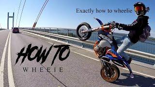 How To Wheelie SUPERMOTO Tutorial (SUPERMOTO TIPS)