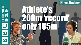 Athlete's 200m 'record' only 185m - News Review