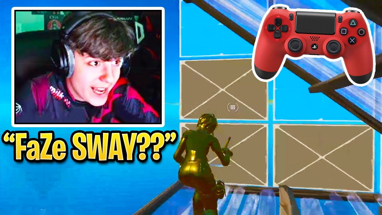 Clix Reacts to CRACKED Controller Players that Can Become The NEXT FaZe Sway