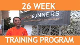LA Roadrunners, Training for the LA Marathon
