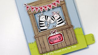 Kissing Zebras | Creating an Interactive Slider Card
