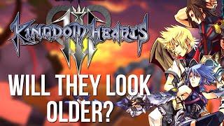 Kingdom Hearts 3 - Will Ventus, Terra and Aqua Look Older? (Kingdom Hearts Discussion)