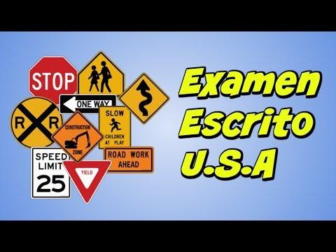 Preguntas Del Examen Teorico De Conducir 2018 En Espanol Dmv Youtube