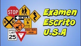 Preguntas del Examen Teorico de Conducir 2018 en Español/DMV