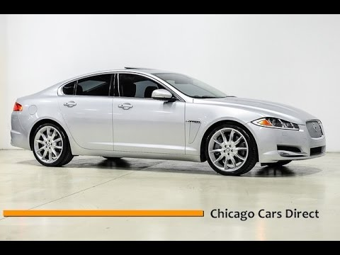 Chicago Cars Direct Reviews Presents A 2013 Jaguar Xf V8 50l