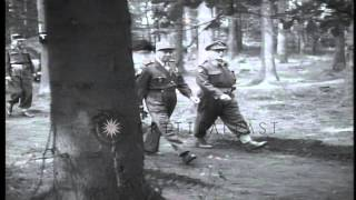 NATO Infantry Chief of Staff, French General Alphonse Juin, in uniform of seven-s...HD Stock Footage