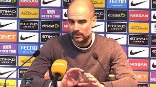 Pep Guardiola Full Pre-Match Press Conference - Bristol City v Manchester City - Carabao Cup