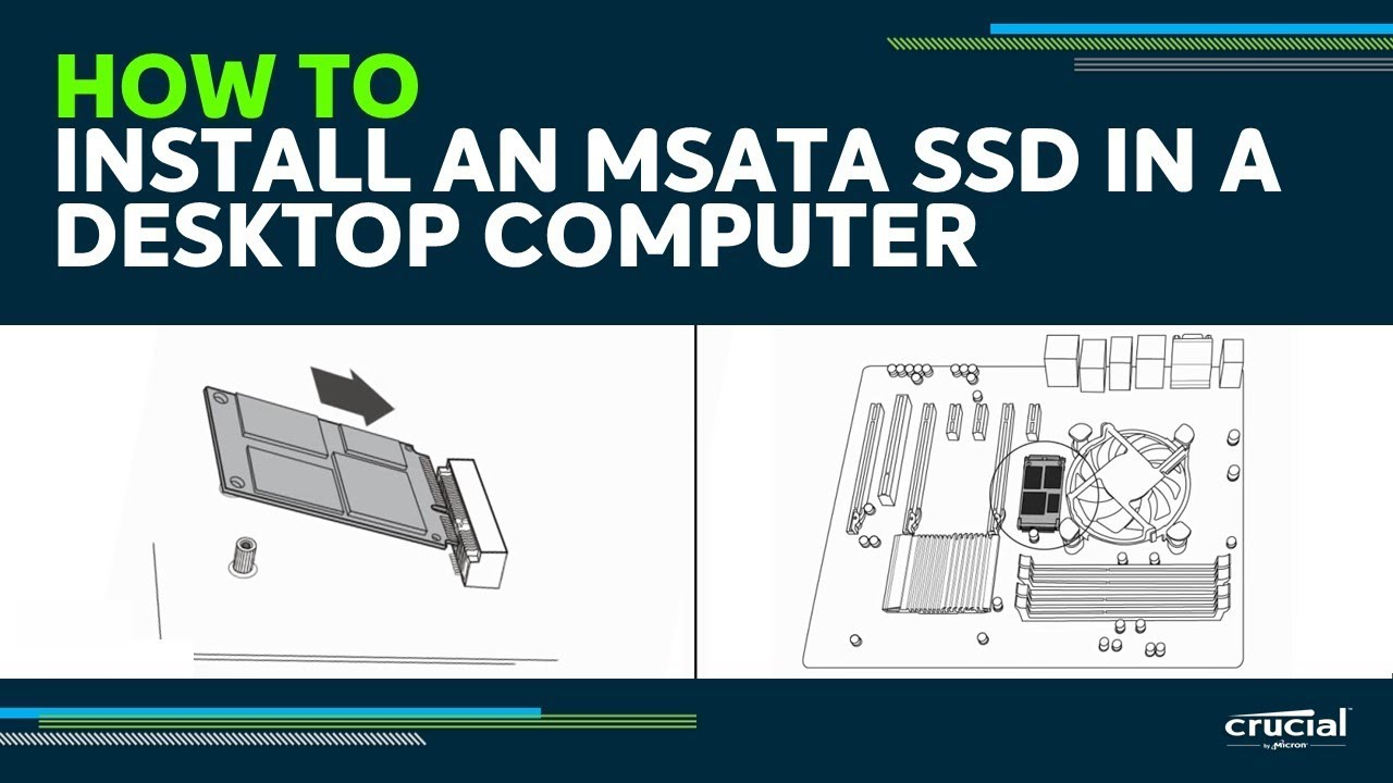 How to Install an mSATA SSD in a Desktop