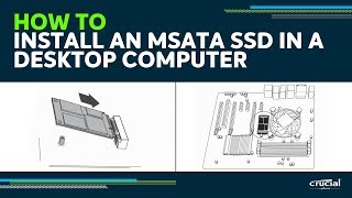 How to install an mSATA SSD in your desktop: video