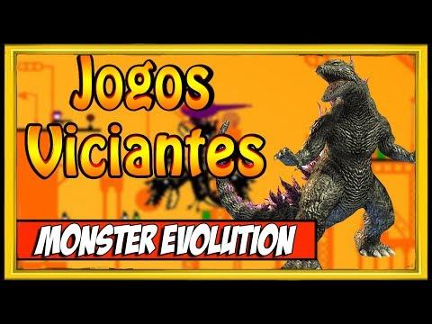 UM DOS JOGOS MAIS VICIANTES DA INTERNET MONSTER EVOLUTION